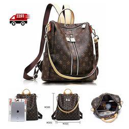 Women Leather Backpack Bag Cute Fashion Purse Cross Body Sho