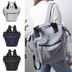 Women Multi-function Waterproof Nylon Travel Backpack Anti-t