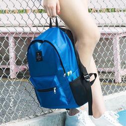 Women Nylon Waterproof Backpacks Portable Hand Backpack Teen