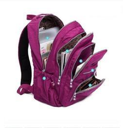 Women's School Backpack For Teenage Girl Nylon Waterproof Ca