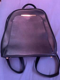 Women Small Backpack Travel Pu Leather Handbag Shoulder Bag