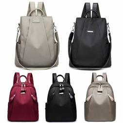 Women Waterproof Anti-Theft Rucksack School Backpack Travel