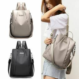 Women Waterproof Oxford Cloth Travel Backpack Nylon Anti-the