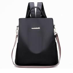 Womens 14inch Laptop Backpack Casual Style Flap Backpacks Da