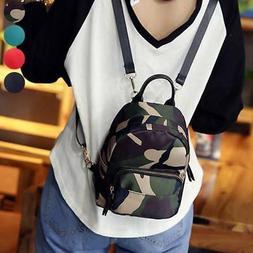 Womens Ladies Small Mini Fashion School Backpack Travel Shou