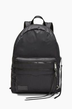 Rebecca Minkoff Womens Large 2 Zip Backpack  -  Black