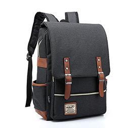 womens men Light Business 15.6' Laptop Backpack Casual Bag D