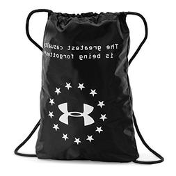 Under Armour WWP Sackpack, Black/White, One Size