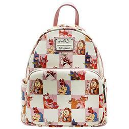 X Disney BFF Character Checker Rose Mini Backpack