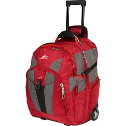 High Sierra XBT Wheeled Laptop Backpack - Red