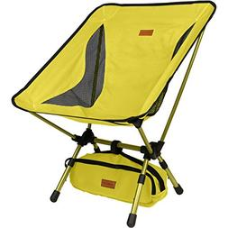 Trekology YIZI GO Portable Camping Chair with Adjustable Hei