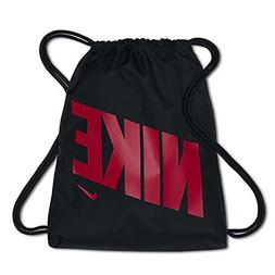 NIKE Youth Gymsack GFX Bag, Black/Black/Rush Pink, Misc