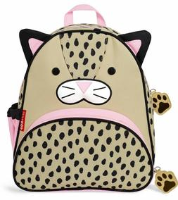 "Skip Hop Toddler Backpack, 12"" Leopard School Bag, Multi"